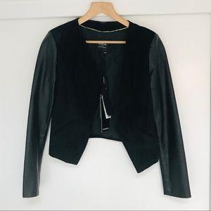 NWT BEBE 100% Genuine Leather Jacket